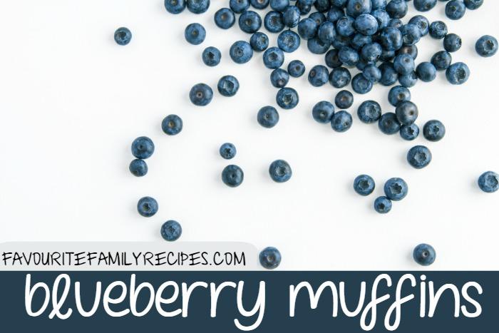 BlueberryMuffins @FamilyFavouriteRecipes