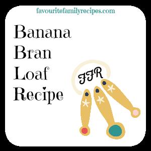 Recipe - Banana Bran Loaf