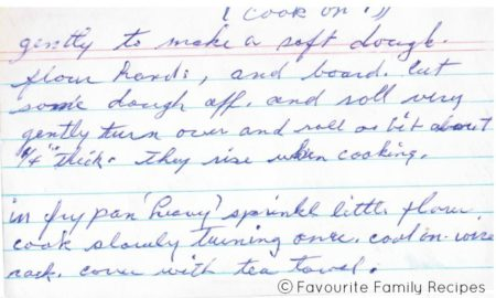 Welsh Cakes Recipe Page 2 Favourite Family Recipes